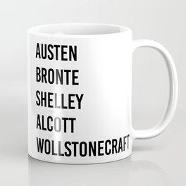 WOMEN OF CLASSICS (WHITE) Coffee Mug