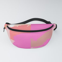 Disconnect an abstract impression Fanny Pack