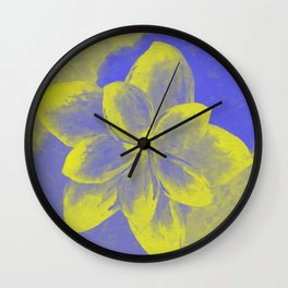 Violet's Love Wall Clock