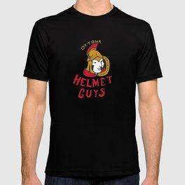 ottowa helmet guys T-shirt