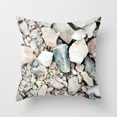 Stone Cold Fox Throw Pillow
