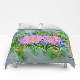 Alberta Wild Rose Comforters
