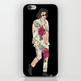 floral harry iPhone Skin