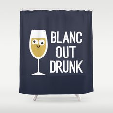 And The Next Thing Vino… Shower Curtain