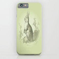 Bunny Rabbit {soft sage green} Slim Case iPhone 6s