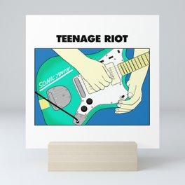 Teenage Riot Mini Art Print