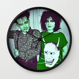 Siouxsie Found Her Banshee Cure Wall Clock