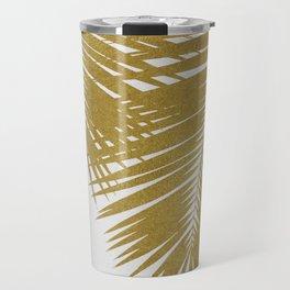 Palm Leaf Gold II Travel Mug