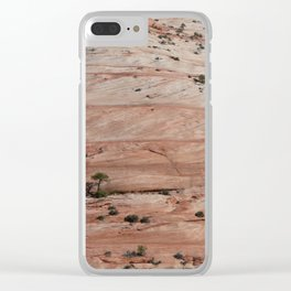 Zion Crossbedding Clear iPhone Case