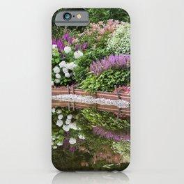 Garden Pond 2 iPhone Case
