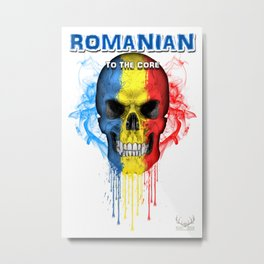 To The Core Collection: Romania Metal Print
