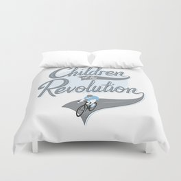 Children Of The Revolution  Duvet Cover