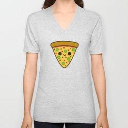 Yummy spicy pizza Unisex V-Neck
