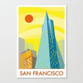 San Francisco Transamerica Pyramid Center  Canvas Print