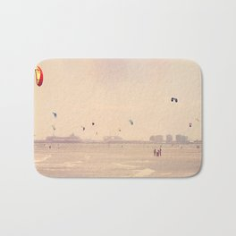 """One can never consent to creep when one feels an impulse to soar."" Helen Keller   Bath Mat"