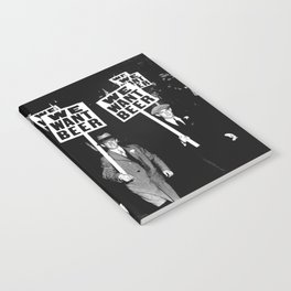 We Want Beer / Prohibition, Black and White Photography Notebook