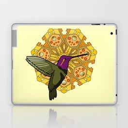 hummingbird and heptagon mandala Laptop & iPad Skin