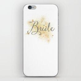 Shining Bride iPhone Skin