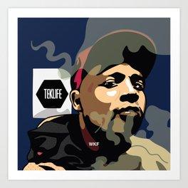 DJ RASHAD Art Print