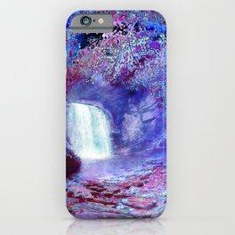 Waterfall in a Magic Wood iPhone Case