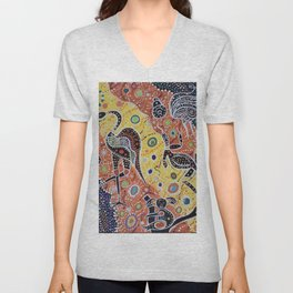 Australia: The Land Where Time Began Unisex V-Neck