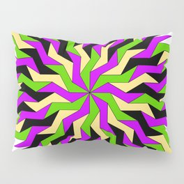 Lightning Wheel Pillow Sham