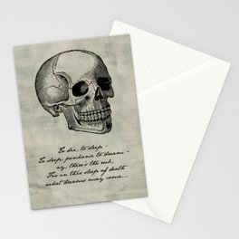 Shakespeare - Hamlet - What Dreams May Come Stationery Cards