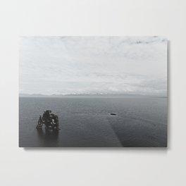 Hvítserkur Metal Print
