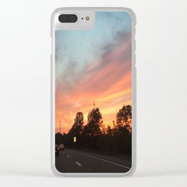 Road Trip Clear iPhone Case