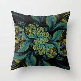 Seekers Bloom Throw Pillow