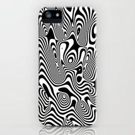 Trippy Background iPhone Case