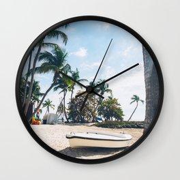 Beach in Key West Wall Clock