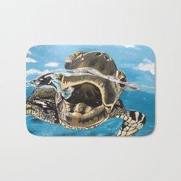 Sea Turtle By Noelle's Art Loft Bath Mat