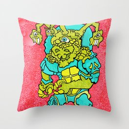 Other Worlds: Sludge Character Throw Pillow