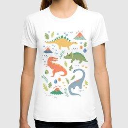 Dinos + Volcanoes T-shirt