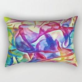 Veils Of Colors Rectangular Pillow