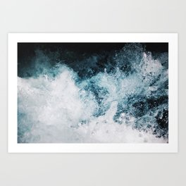 Blue Swells Art Print