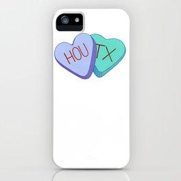 Houston Love iPhone Case