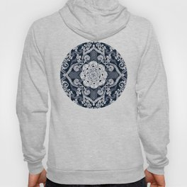 Centered Lace - Dark Hoody