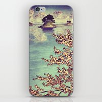 sunset iPhone & iPod Skins featuring Watching Kukuyediyo by Kijiermono