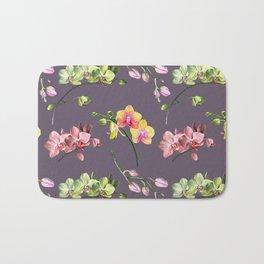 Orchid Craze II Bath Mat