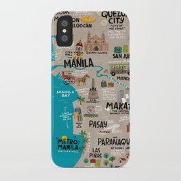 Metro Manila, Philippines iPhone Case