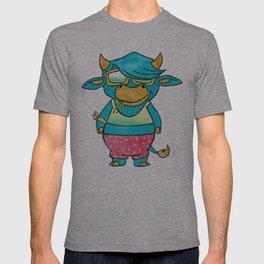 Cowbin Blu T-shirt