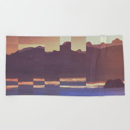 Fractions A53 Beach Towel