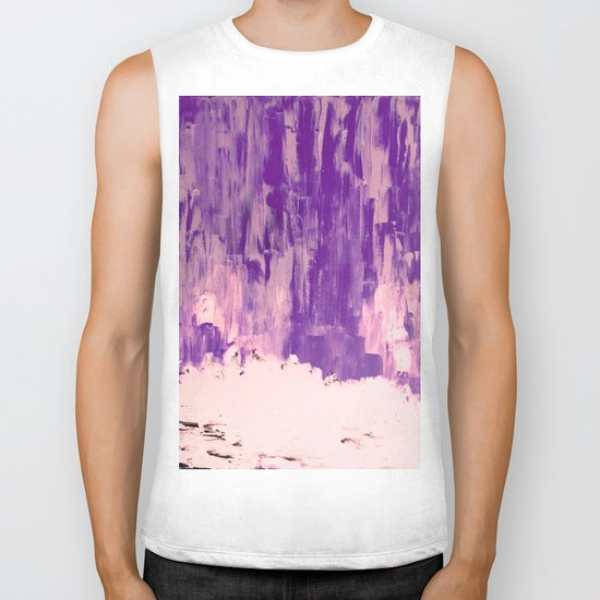 Snow Dreams in Autumn, Solar Flares Series Biker Tank