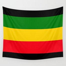 Rastafarian Colors Wall Tapestry