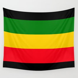 Rastafarian Colors Wall Tapestry