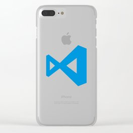 visual studio code Clear iPhone Case