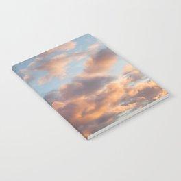 Peach Clouds Notebook