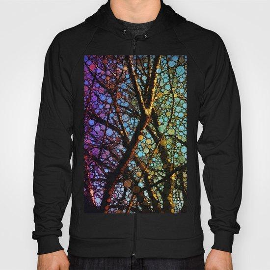 Colourful tree Hoody